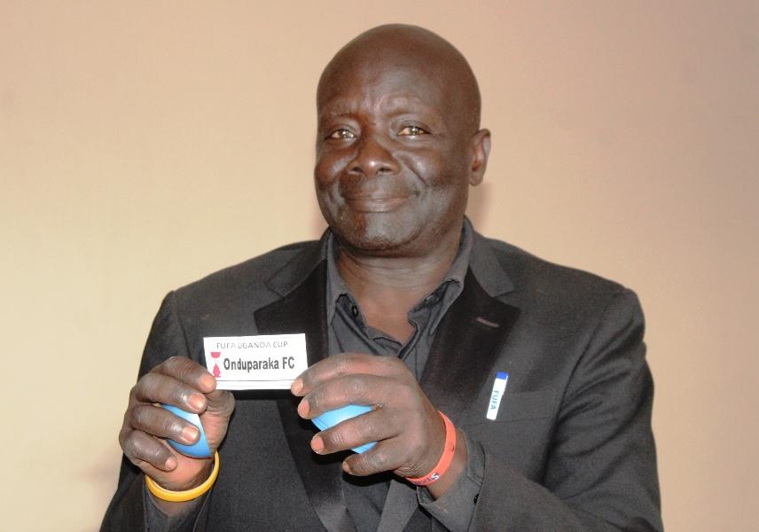 Uganda Cranes legend Paul Ssali Mukisa took part in the draws