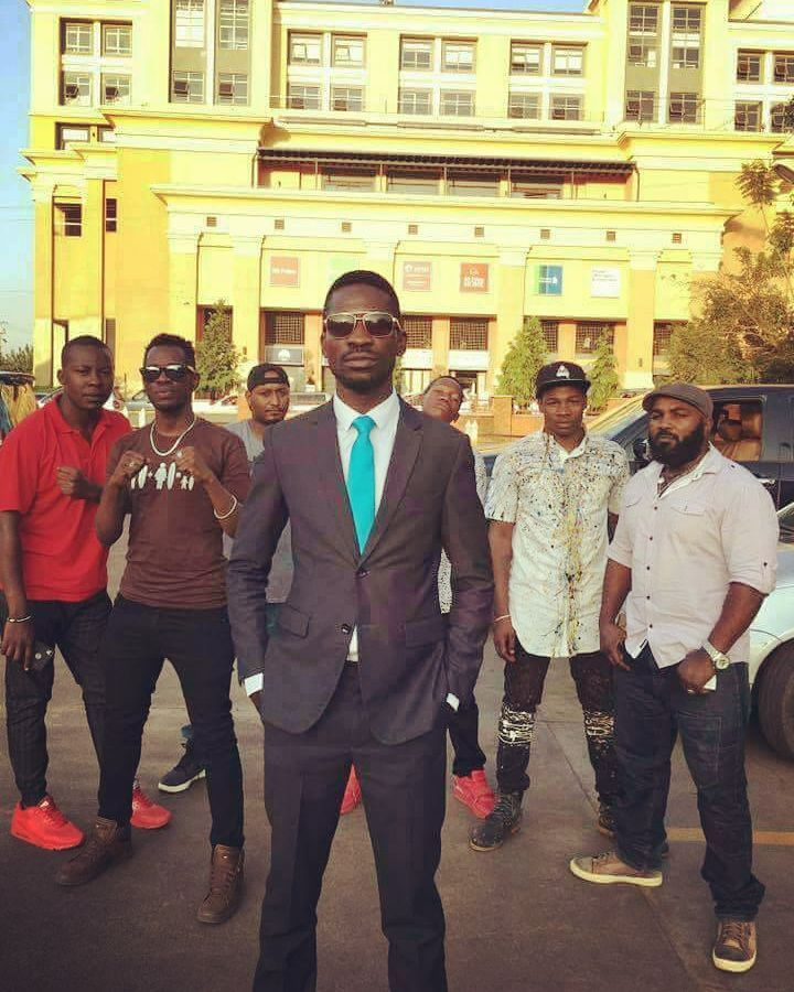 Bobi and his crew