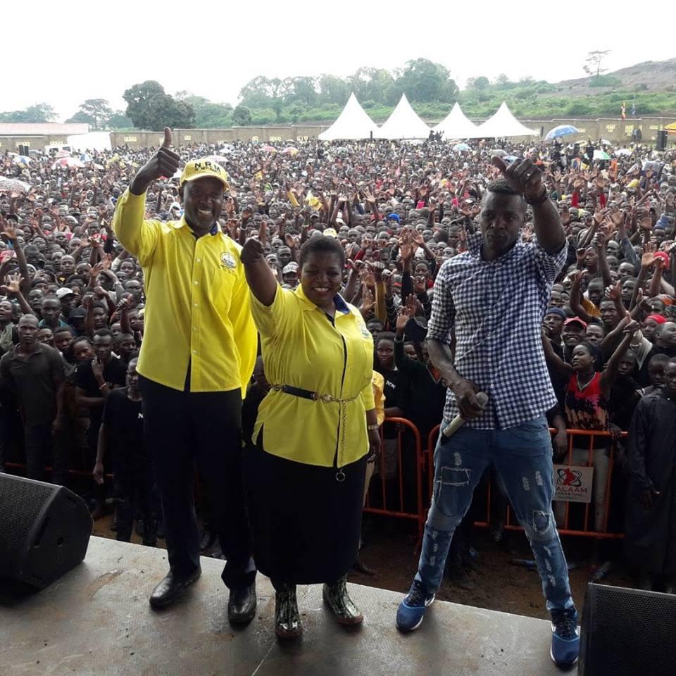 Nathan Igeme Nabeta, Lumumba Kasule ne Chameleone ku siteegi