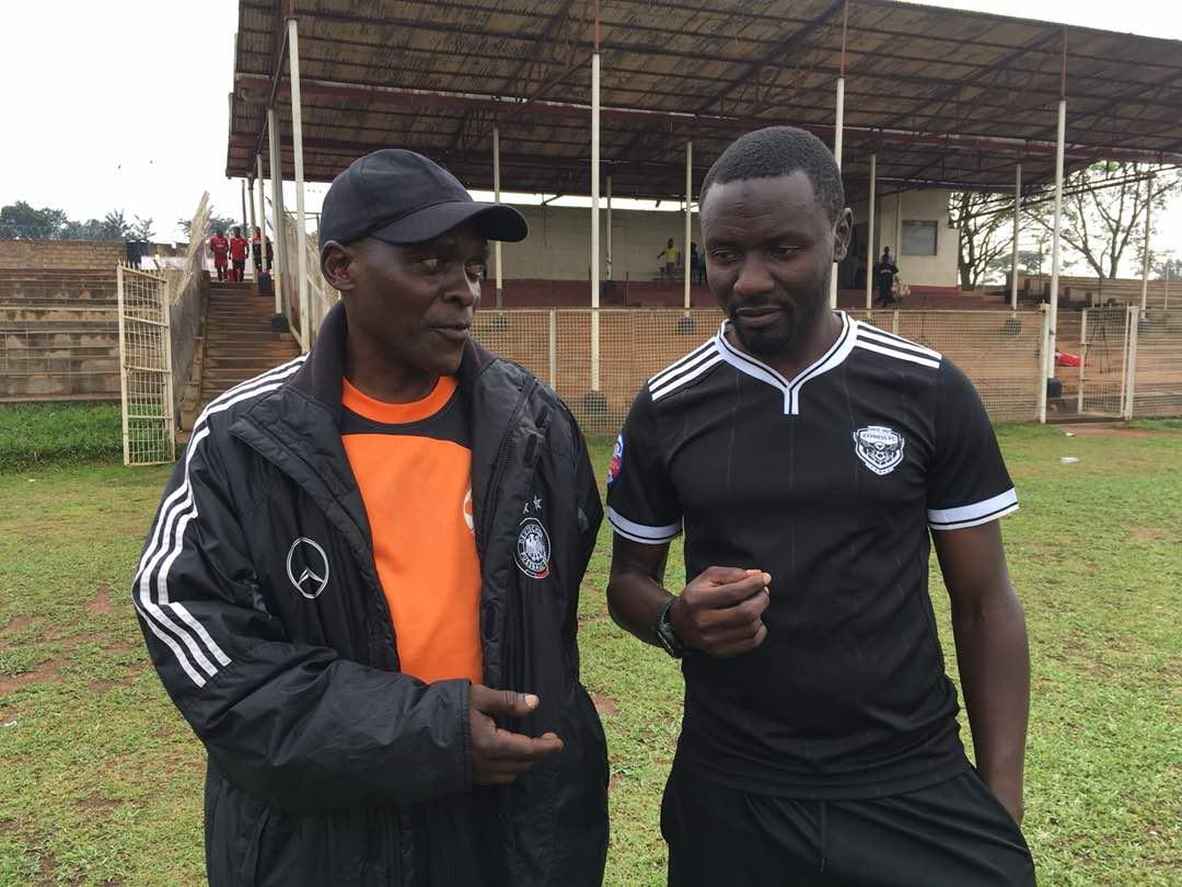 Nsimbe with Bisaso at Wankulukuku today