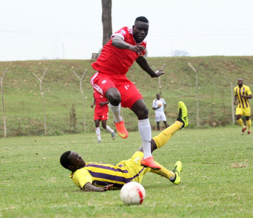 Express Fc will be banking on Alex Leku for goals