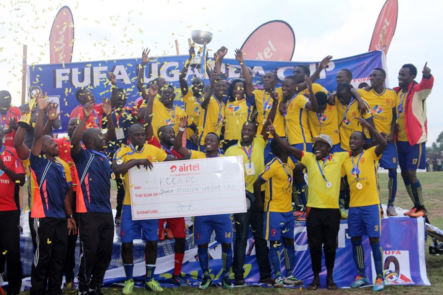 KCCA won the Uganda Cup after defeating Paidha Black Angels in Arua