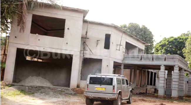 Bebe Cool's unfinished house